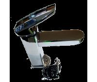 NOF1-A033 смеситель для умыв картридж ф35, шпилька (ZEGOR)