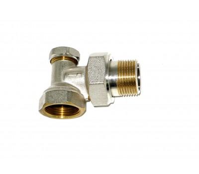 Клапан нижний 3/4(детентор) угловой KLD