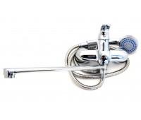 Смеситель для ванной G22253 переключение в корпусе (Гронео)